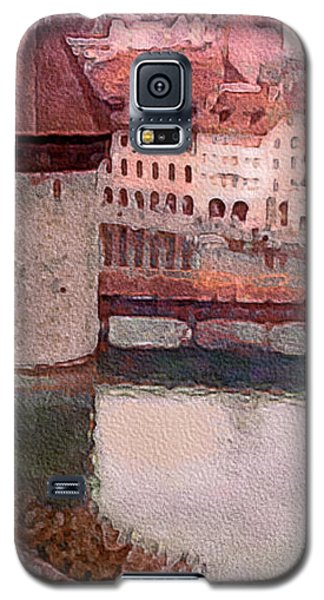 Lovely Lake Lucerne Galaxy S5 Case by Susan Maxwell Schmidt