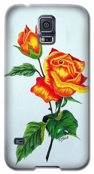 Lovely Rose Galaxy S5 Case