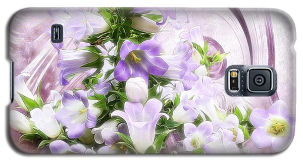 Galaxy S5 Case featuring the mixed media Lovely Spring Flowers by Gabriella Weninger - David