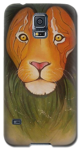 Lovelylion Galaxy S5 Case by Anne Sue