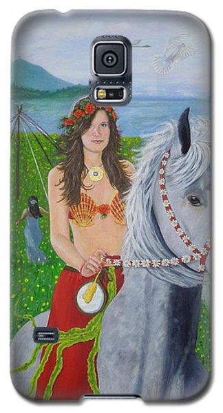 Lover / Virgin Goddess Rhiannon - Beltane Galaxy S5 Case
