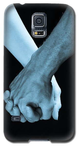 Lovers Hands Galaxy S5 Case
