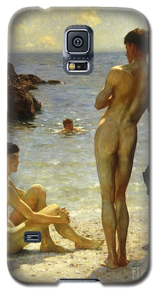 Lovers Of The Sun Galaxy S5 Case by Henry Scott Tuke