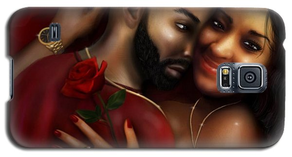 Lovers Portrait Galaxy S5 Case