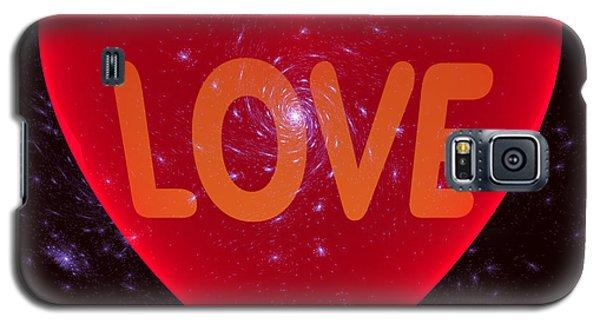 Loving Heart Galaxy S5 Case by Ernst Dittmar