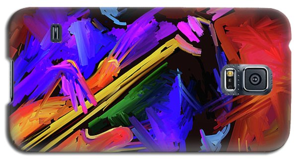 Galaxy S5 Case featuring the painting Low Rider by DC Langer