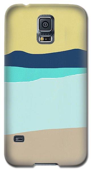 Low Tide- Art By Linda Woods Galaxy S5 Case by Linda Woods