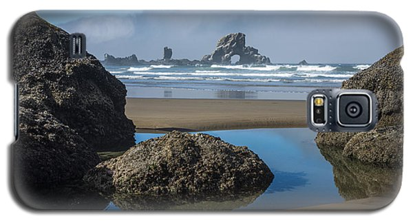 Low Tide At Ecola Galaxy S5 Case