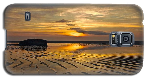 Low Tide At Mayflower Beach Galaxy S5 Case by Amazing Jules