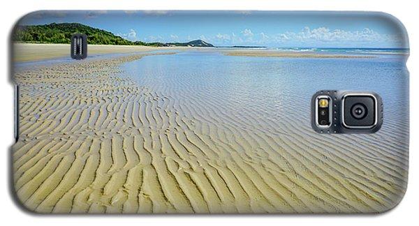 Low Tide Beach Ripples Galaxy S5 Case