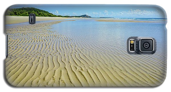 Low Tide Beach Ripples Galaxy S5 Case