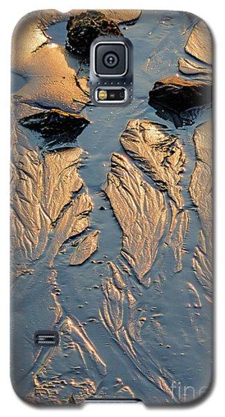 Galaxy S5 Case featuring the photograph Low Tide Flow, Kettle Cove, Cape Elizabeth, Maine  -66557 by John Bald