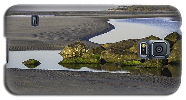 Low Tide On Tybee Island Galaxy S5 Case by Elizabeth Eldridge