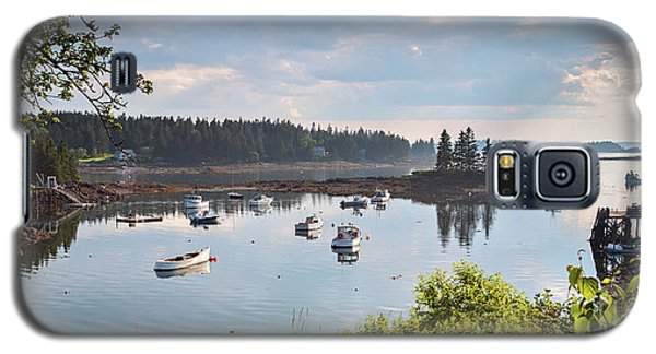 Galaxy S5 Case featuring the photograph Low Tide, Port Clyde, Maine #8507 by John Bald