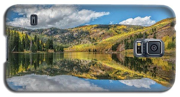 Lower Cataract Lake Aspen Galaxy S5 Case by Stephen Johnson