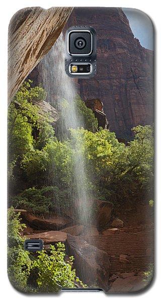 Lower Emerald Pool Falls In Zion Galaxy S5 Case