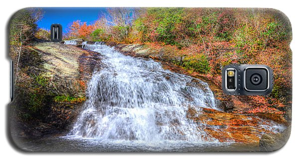 Lower Falls At Graveyard Fields Galaxy S5 Case