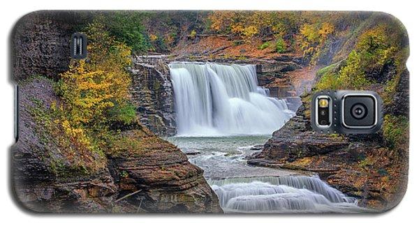 Lower Falls In Autumn Galaxy S5 Case