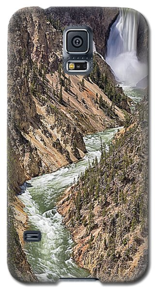 Lower Falls Galaxy S5 Case by John Gilbert