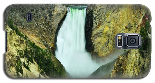 Lower Falls No Border Or Caption Galaxy S5 Case