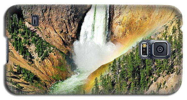 Lower Falls Rainbow Galaxy S5 Case by Greg Norrell