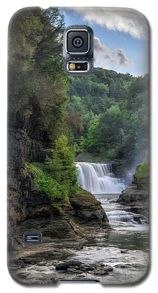 Lower Falls - Summer Galaxy S5 Case by Mark Papke
