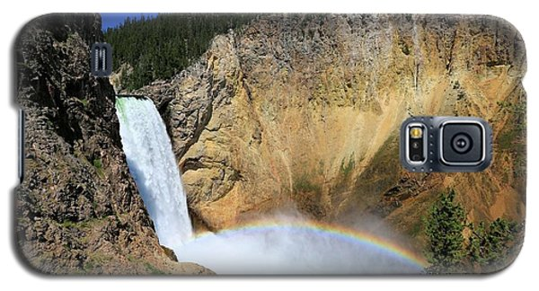 Lower Falls With A Rainbow Galaxy S5 Case