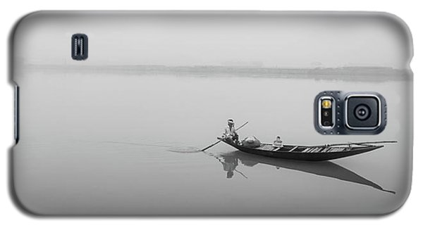 Lower Ganges - Misty Morinings Galaxy S5 Case