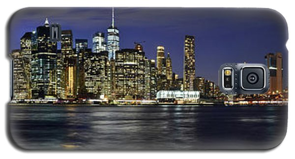 Lower Manhattan From Brooklyn Heights At Dusk - New York City Galaxy S5 Case