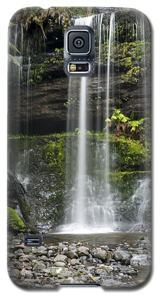 Galaxy S5 Case featuring the photograph Lower Russell Falls Tasmania  by Odille Esmonde-Morgan