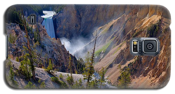 Lower Yellowstone Falls Galaxy S5 Case