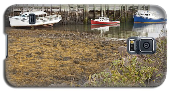 Lowtide Fishing Boats Galaxy S5 Case