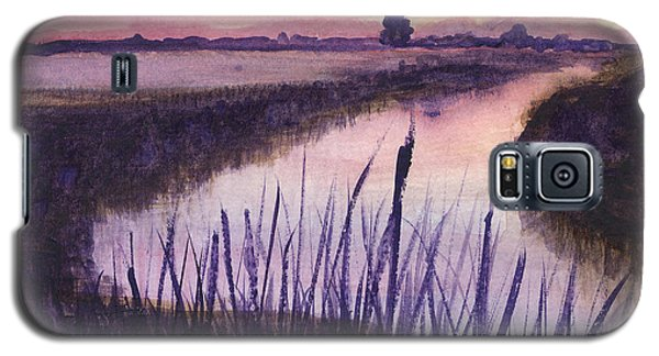 Loxahatchee Sunset Galaxy S5 Case by Donna Walsh