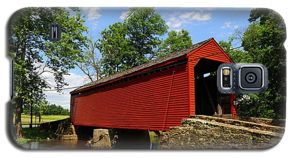 Loys Station Covered Bridge Frederick County Maryland Galaxy S5 Case