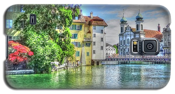Galaxy S5 Case featuring the photograph Lucerne by Adrian LaRoque