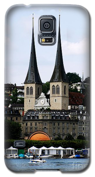 Lucerne Cathedral Galaxy S5 Case by Pravine Chester