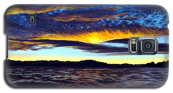Lucerne Sunset Galaxy S5 Case