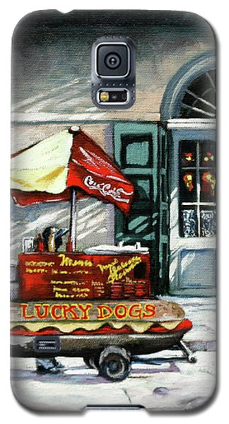 Lucky Dogs Galaxy S5 Case by Dianne Parks