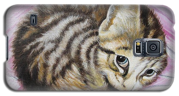Lucy Girl Galaxy S5 Case by Sigrid Tune
