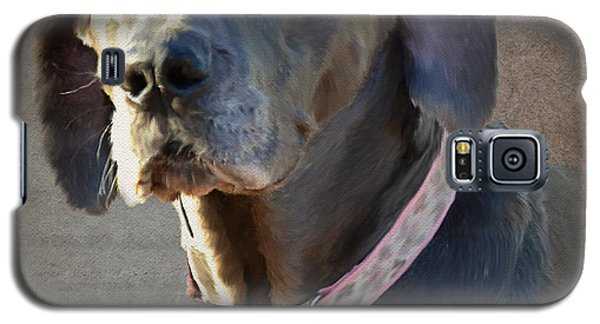 Galaxy S5 Case featuring the photograph Lucy by Jean Moore