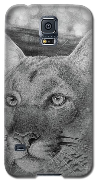 Galaxy S5 Case featuring the painting Lucy by Jennifer Watson