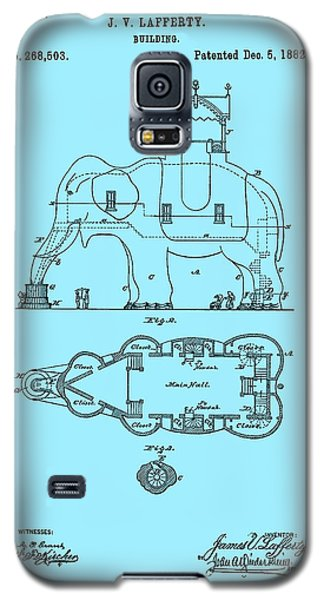 Lucy The Elephant Patent 1882 Galaxy S5 Case