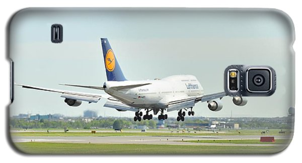 Lufthansa Airlines 747 Galaxy S5 Case