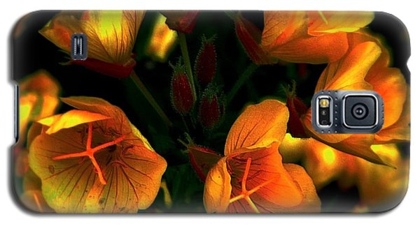Galaxy S5 Case featuring the photograph Luminous by Elfriede Fulda