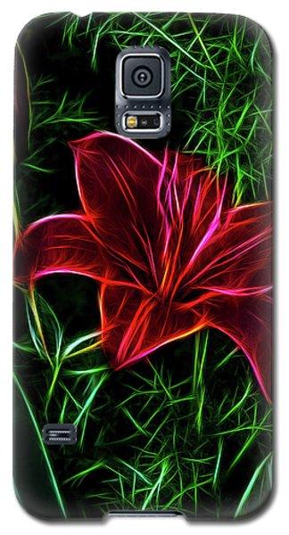Luminous Lily Galaxy S5 Case by Joann Copeland-Paul