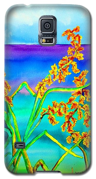 Galaxy S5 Case featuring the painting Luminous Oats by Lil Taylor