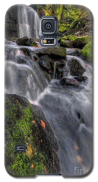 Galaxy S5 Case featuring the photograph Lumsdale Falls 5.0 by Yhun Suarez