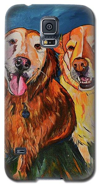 Luna And Pumpkin Galaxy S5 Case by Patti Schermerhorn