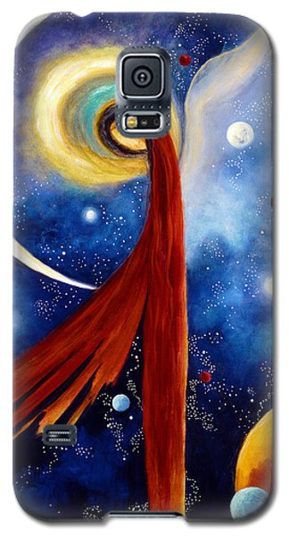 Lunar Angel Galaxy S5 Case by Marina Petro