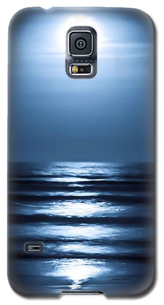 Lunar Dreams Galaxy S5 Case by DigiArt Diaries by Vicky B Fuller